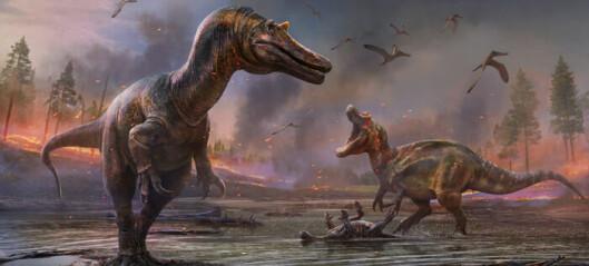 To svære dinosaurer med krokodille-aktig hode er oppdaget i England