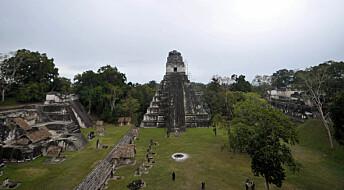 Nyoppdagede bygninger i Maya-byen Tikal har en skjult mening