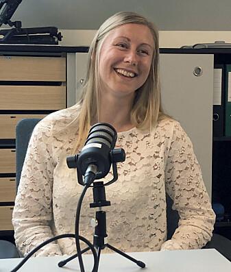 PhD candidate Jenny Sjåstad Hagen.