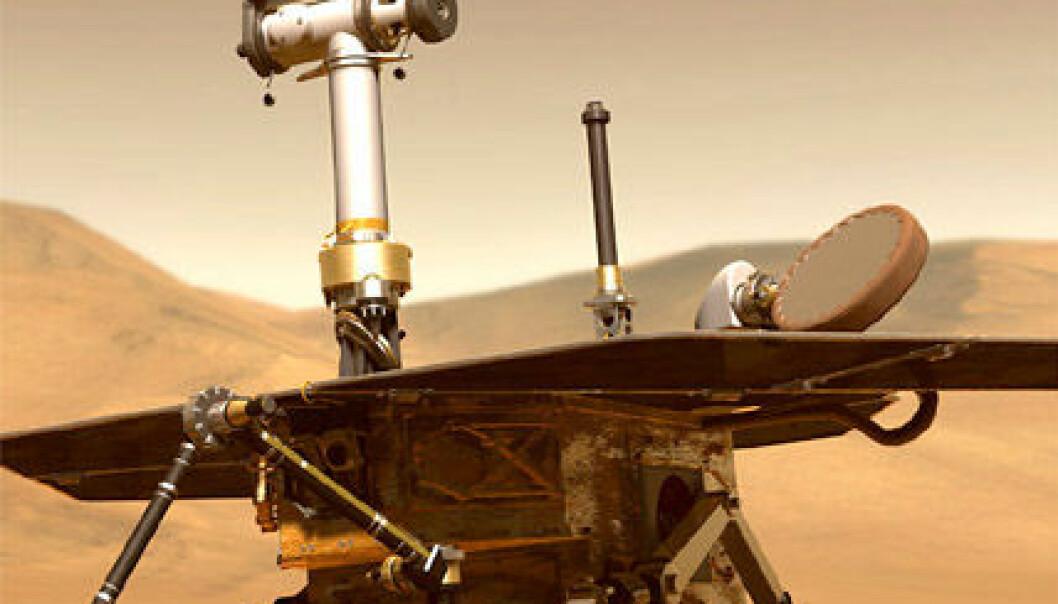 Uslåelige rovere på Mars