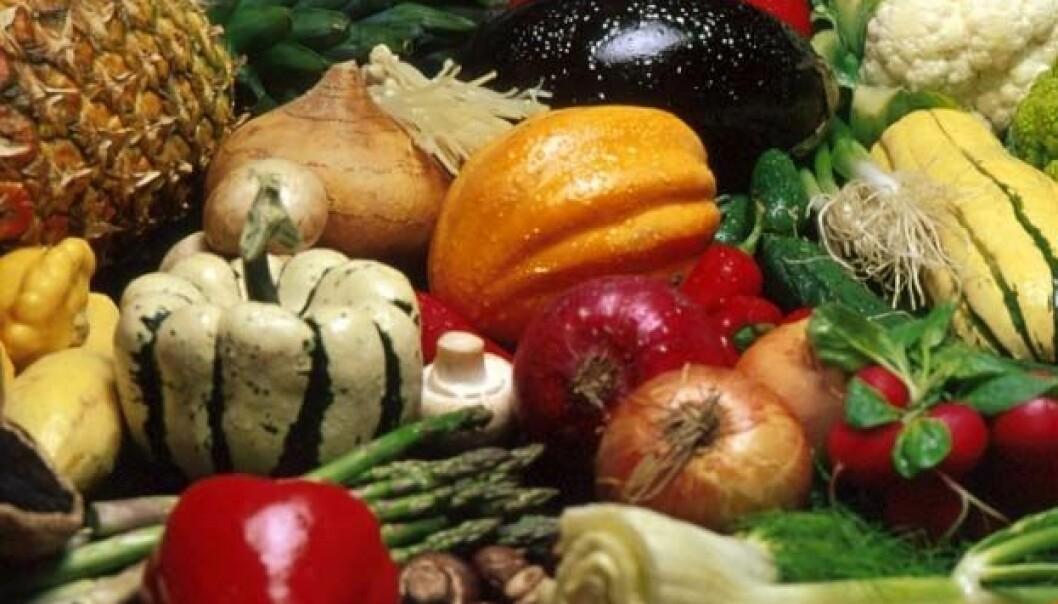 Ny kunnskap om helsefremmende stoffer i frukt og grønt