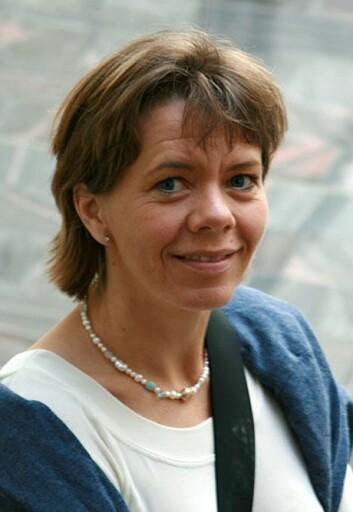 Forsker Sameline Grimsgaard. (Foto: Kristine Østvold)