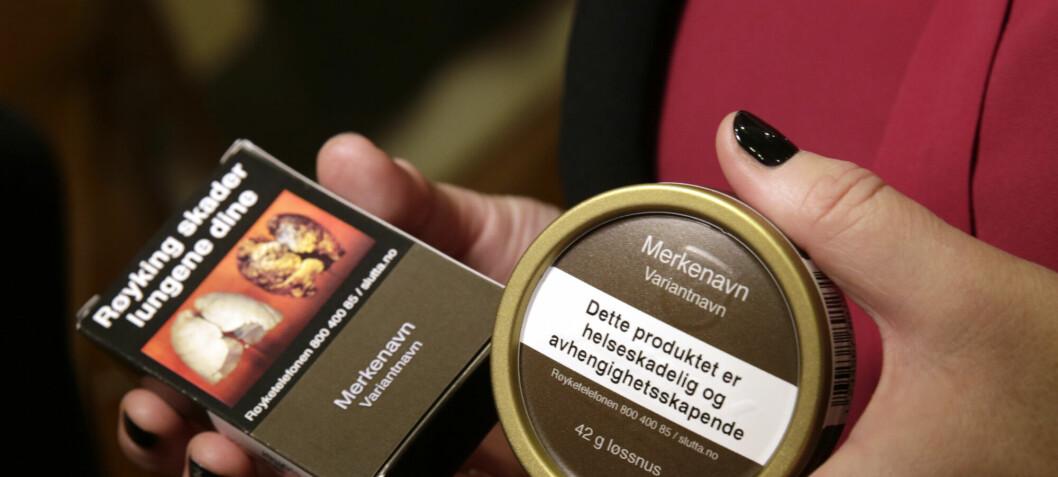 Standardiserte tobakkspakninger hadde liten eller ingen effekt, ifølge ny FHI-studie
