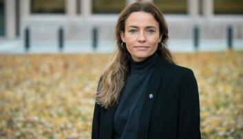 Generalsekretær Ingrid Stenstadvold Ross i Kreftforeninger ser alvorlig på at barn og unge blir eksponert for mye tobakk i sosiale medier.