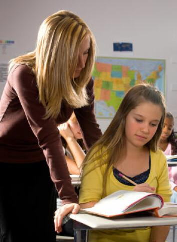 Forskning viser at det er liten sammenheng mellom flere lærere og bedre resultater i skolen. (Illustrasjonsfoto: iStockphoto)