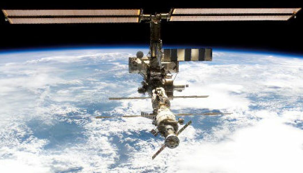 """""""Den internasjonale romstasjonen er trolig sikret et liv inn i neste tiår. (Foto: NASA)"""""""