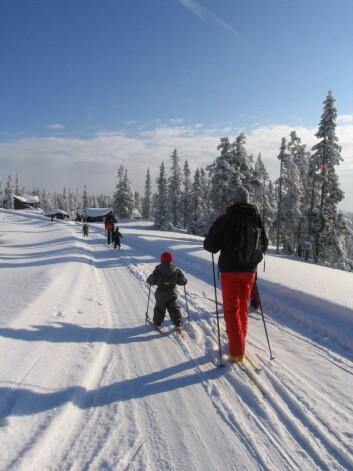 Mer vannkraft og mer turisme i Norge er sannsynlige resultater av klimaoppvarming. Foto: Shutterstock