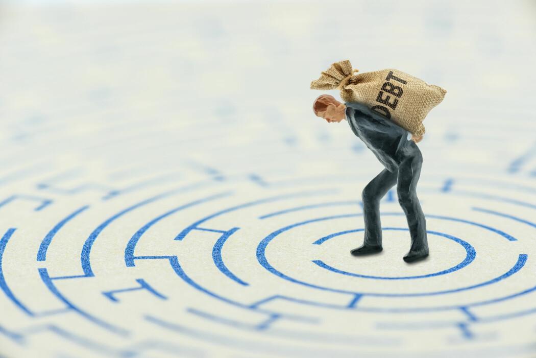 En rekke internasjonale studier har vist at det er en sammenheng mellom uhåndterlig gjeld og psykiske vanskeligheter.