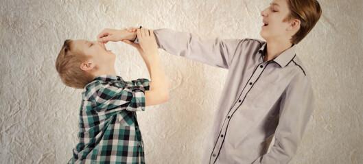 Søskenmobbing er ikke greit