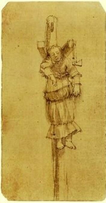 Elsje Christiaens, tegnet av Rembrandt.