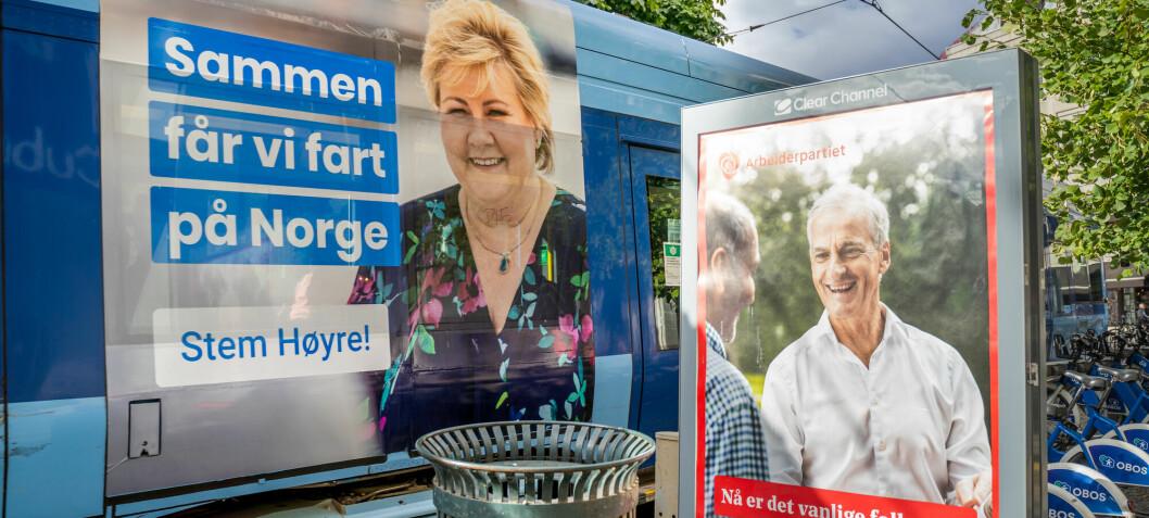 Slik får partiene pengene de trenger for å drive valgkamp