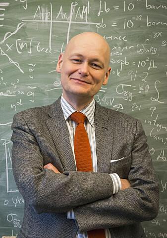 – Parisi er erkebildet på en teoretisk fysiker, forteller fysiker Are Raklev.