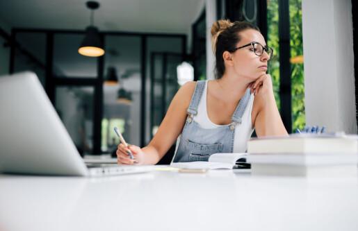 Digital undervisning gir mindre motivasjon