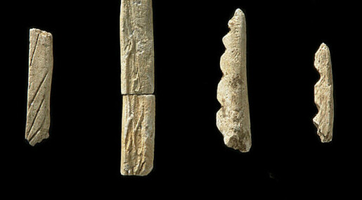 Slik ser 12.000 år gammelt fiskeutstyr ut