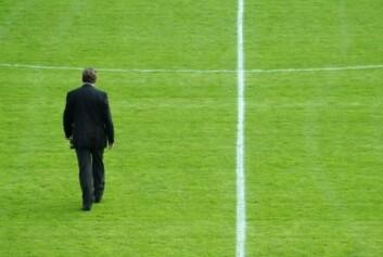 Treneren må ta skylda når resultatene uteblir. (Illustrasjonsfoto: www.colourbox.no)