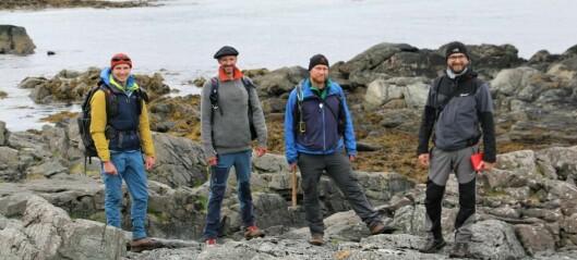 Bli med geologene på feltarbeid