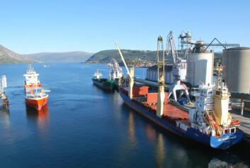 Mosjøen industriterminal. (Foto: SynchroPort)