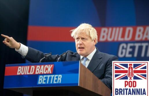 Boris Johnson legger fram en ny visjon for Storbritannia