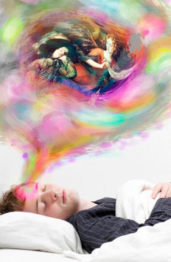 Er vi sikre når vi drømmer, eller kan andre utnytte den uskyldige søvnen til å stjele idene våre? (Illustrasjonsfoto: Colourbox / Per Byhring)