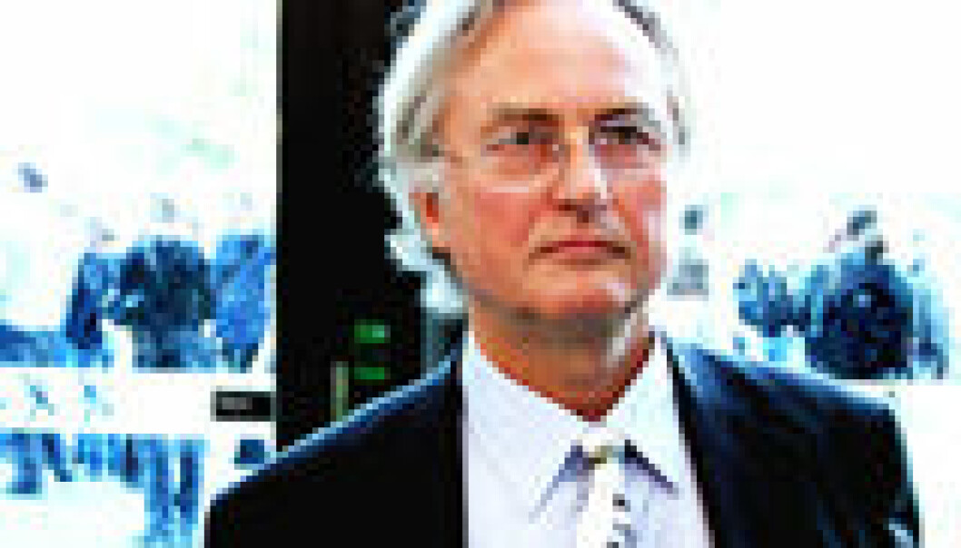"""Richard Dawkins. Foto: Erik Tunstad"""