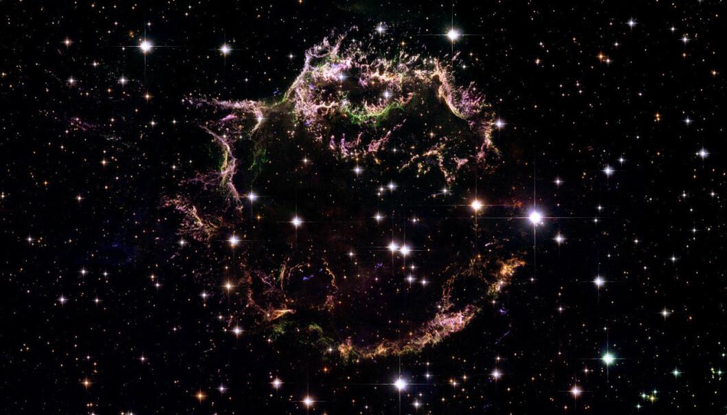 Mørk supernova letter på sløret