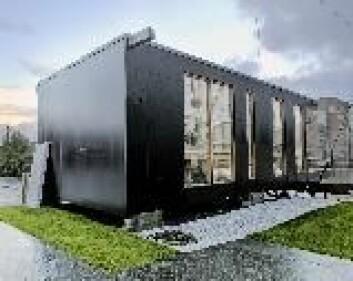 """""""I prosjektet Science Created by You får skoleelever sjansen til å designe sitt eget karbondioksidnøytrale hus."""""""