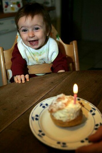 """""""Er kake et ord norske barn lærer tidlig tro? (Foto: www.colourbox.no)"""""""