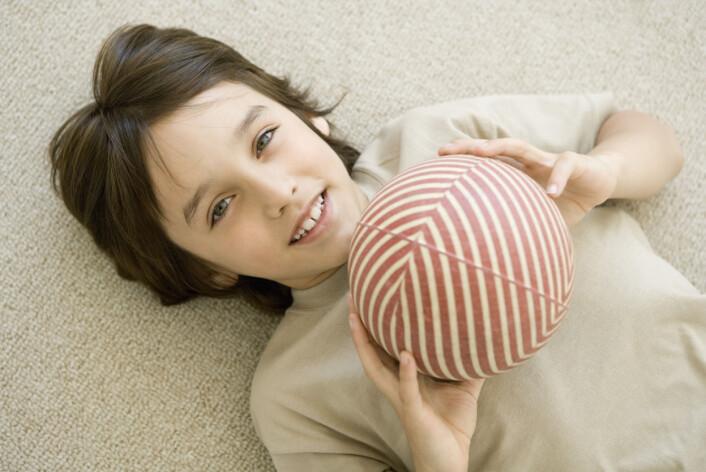 """""""Den australske studien slår fast at tiåringer med ballkontroll blir mer aktive og har mindre sjanse for å bli overvektige som tenåringer. (Illustrasjonsfoto: www.colourbox.no)"""""""