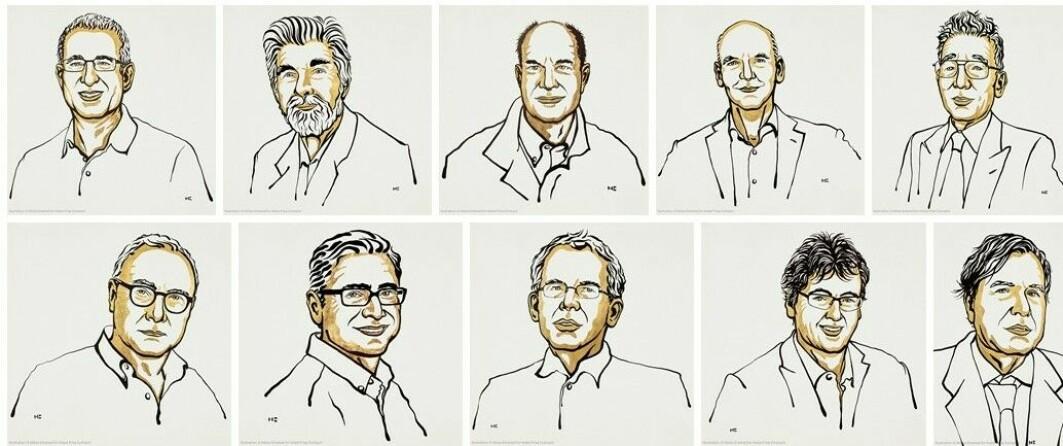 I år gikk alle prisene til menn. Godt voksne, som oftest hvite, menn – som oftest jobber i USA.