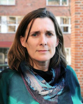 Anne Waldrop er kritisk til utviklingen i India. (Foto: HiO)