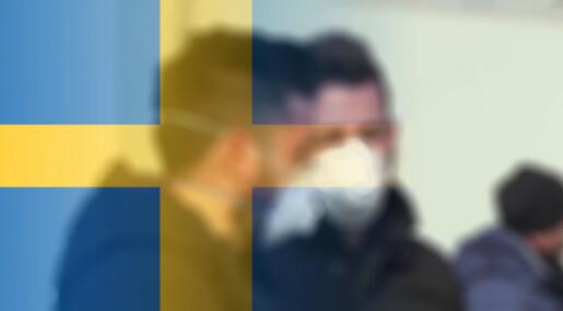 – Sverige mislyktes i håndteringen av koronapandemien