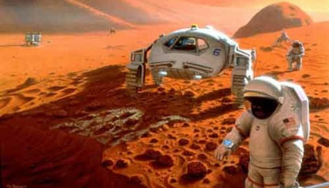 Vil mennesker overleve en ferd til Mars?