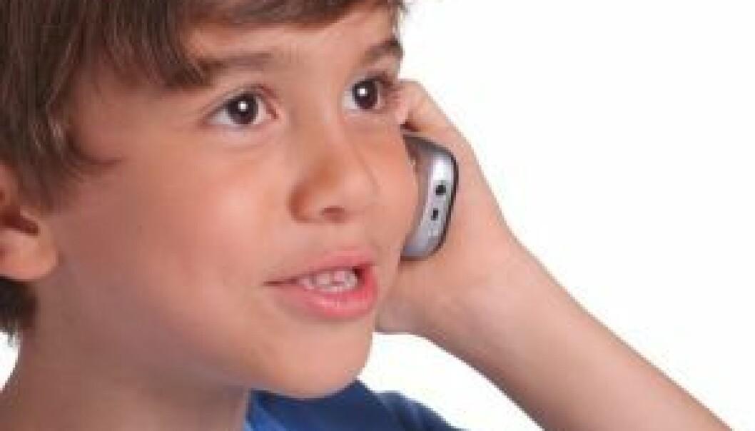 Effekten av barns mobilbruk