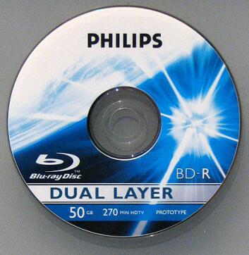 """""""Blu-ray DVD-skive: Bare plass til en kortfilm med rå ubehandlet HDTV-video."""""""