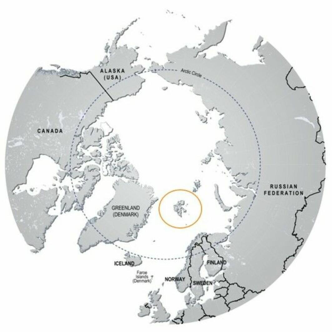 Svalbard er en gruppe øyer som ligger langt nord for Norge.