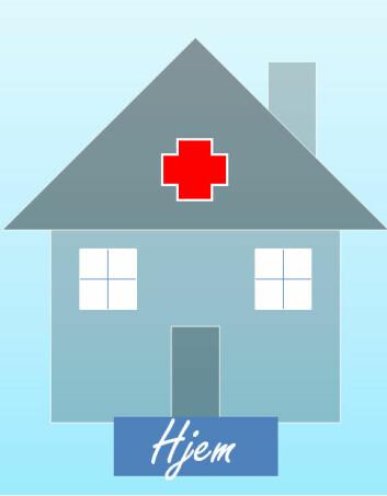 Hjemmesykehus kan redusere antall reinnleggelser ved akutt forverring av kols. (Illustrasjon: Knut Forr Børtnes)