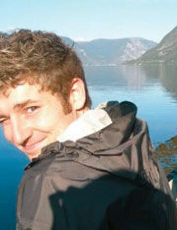 Den kanadiske utvekslingsstudenten Graham (21) er en av vel 12 000 utenlandske studenter som studerer i Norge. – Jeg tror at det å studere ute er en viktig del av alle studenters dannelsesprosess, sier han. (Foto: SIU)
