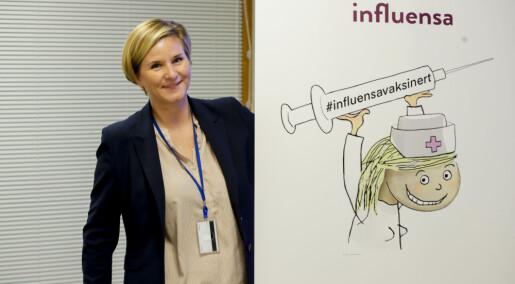 Årets influensa er allerede i Europa