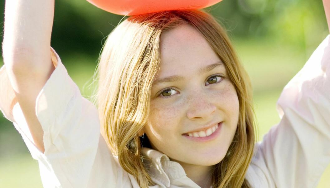 Ballkontroll gir aktive tenåringer
