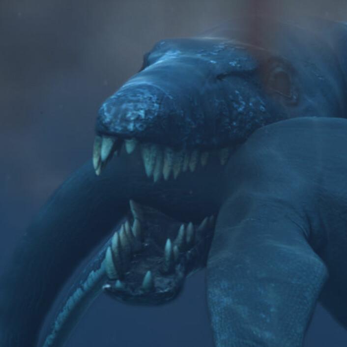 Pliosaur. (Illustrasjon: Atlantic Productions)