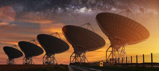 Mystiske radiosignaler fra galaksens sentrum skrur seg av og på