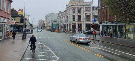 Sentrum kan få mindre biltrafikk og bli bedre for de som går, sykler og tar bussen