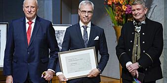 Kongen tildelte Bjørn Tore Gjertsen kreftforskningspris