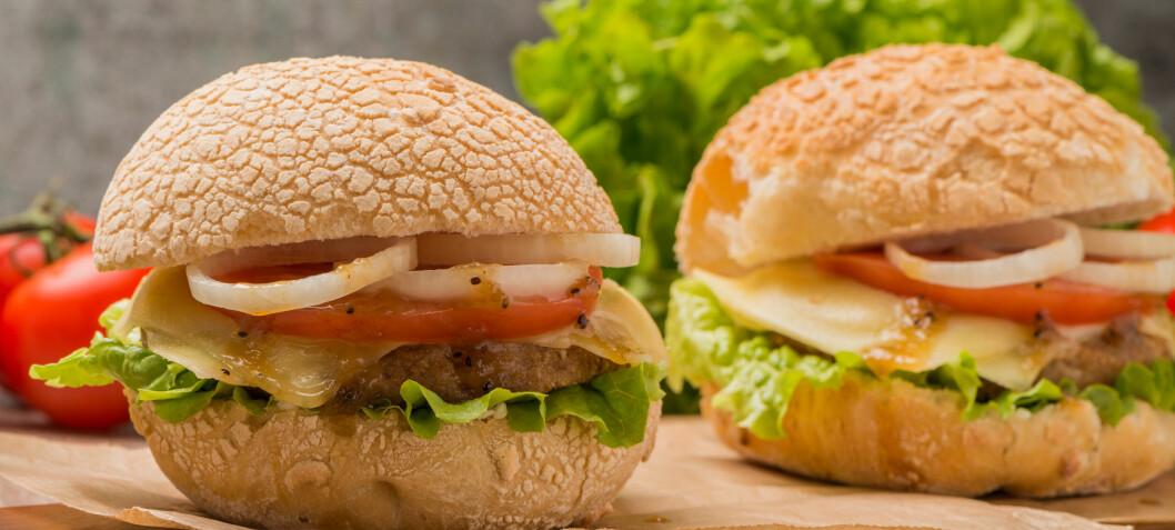 Snart kommer den norske vegetarburgeren