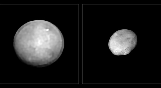Astronomer har tatt bilder av de 42 største asteroidene i solsystemet