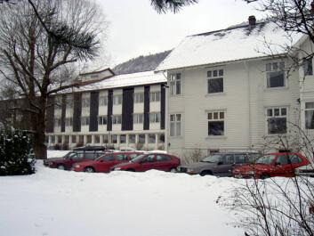 Bjørkeli Voss Psykiatriske senter 2004. (Foto fra avhandlingen: Inger Beate Larsen)