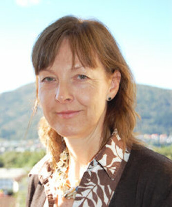 Anne Grete Danielsen fra Høgskolen i Bergen. (Foto: Frøy Katrine Myrhol)