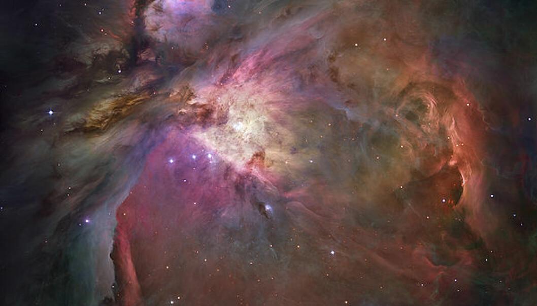 Den vakre Oriontåken rommer mange mysterier. Nå har vi oppdaget noen av dem. (Foto: NASA/ESA)