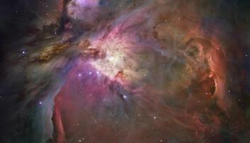 Livgivende molekyler i Oriontåken
