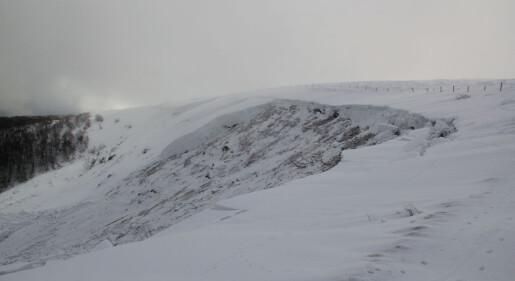 Her ble det færre snøskred da det ble varmere